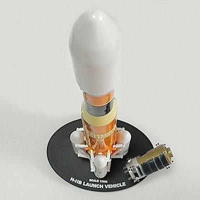 1/200 スケール HIIB ロケット レジンキットモデル
