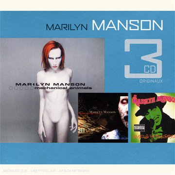 Marilyn Manson - Coffret 3 CD : Mechanical Animals / Antichrist Superstar / Smells Like Children - Zortam Music