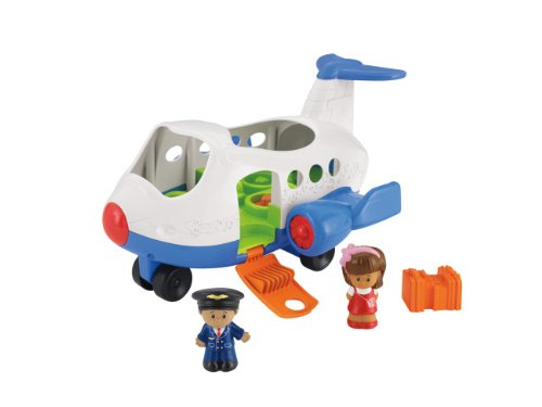mattel-bjt56-fisher-price-little-people-flugzeug-inklusive-2-figuren