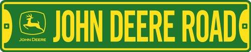 John Deere Road Street Sign
