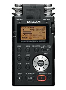 tascam dr100 portable digital recorder musical instruments. Black Bedroom Furniture Sets. Home Design Ideas