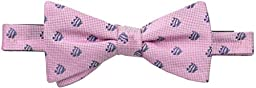 Countess Mara Men\'s London Fish Pre-Tied Bow Tie, Pink, One Size