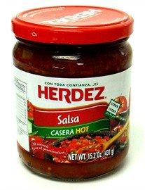 Herdez Salsa Casera Hot Snack Size by Herdez