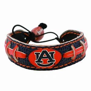 Buy Auburn Tigers Team Color Football Bracelet by GameWear