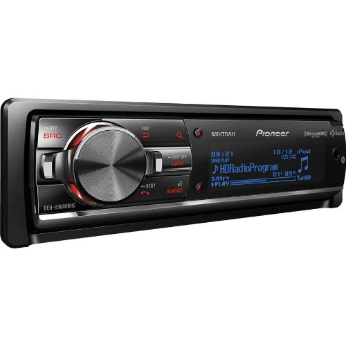"Pioneer Car Stereo Cd Receiver With Built-In Hd Radio And Bluetooth For Wireless Calling And Audio Streaming, All New Mixtrax Dj Inspired Technology, Fold-Down Face With Variable Color Illumination, With Built-In Mosfet Amplifier, Compatible With Siri ""Ey"