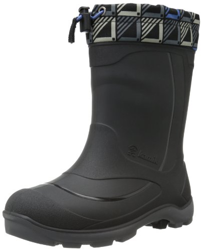 Kamik Kids Black Squares Snobuster2 2.0 US Big Kid