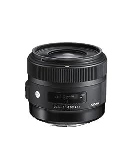 Sigma 30mm f/1.4 DC HSM Lens for Canon Digital SLR Cameras (Black)
