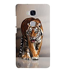PRINTSHOPPII TIGER Back Case Cover for Huawei Honor 5X
