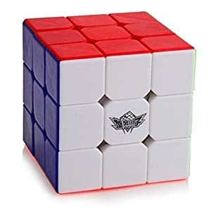 Cubic Dash Boy Cube Turns Quicker and More Precisely Than Original; Super-durable With Vivid Colors;3x3 Speed Cube