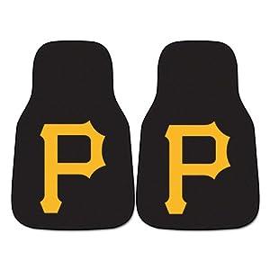 FANMATS MLB Pittsburgh Pirates Nylon Face Carpet Car Mat by Fanmats
