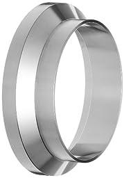 Dixon 15WI-G400 Stainless Steel 304 Sanitary Fitting, Female I-line Short Weld Ferrule, 4\