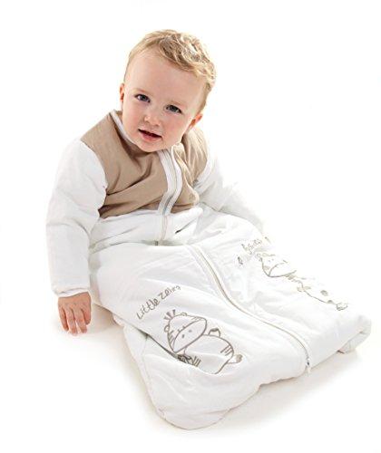 Winter Baby Sleeping Bag Long Sleeves 3.5 Tog - Cartoon Animal - 0-6 Months/28inch