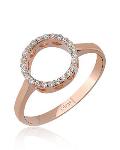 Divas Diamond Anillo DVS235010 Oro Rosa