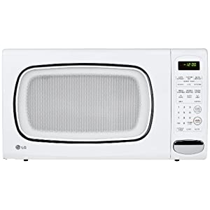 LG LCS1410SW 1.4 Cu Ft Counter Top Microwave Oven, White