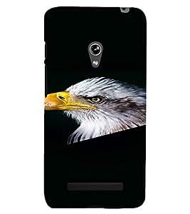 PrintVisa Eagle Bird Design 3D Hard Polycarbonate Designer Back Case Cover for Asus Zenfone 5