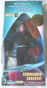 "Star Trek Voyager Warp Factor Series 1 9"" Commander Chakotay Action Figure"