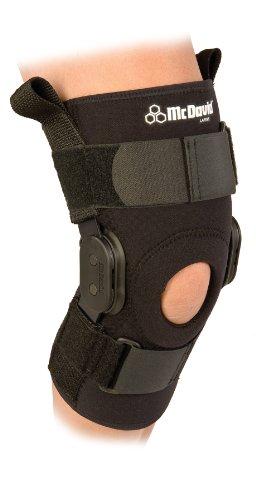 McDavid Ps Ii Hinged Knee Stabilizer (Black,-Medium