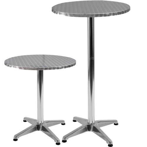 Tavolo rotondo tavolo da pub altezza regolabile 70 110cm - Altezza tavolo cucina ...
