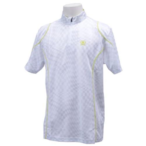 (オジオ)OGIO メンズ 半袖ハーフジップハイネックシャツ 764603 WT ホワイト M