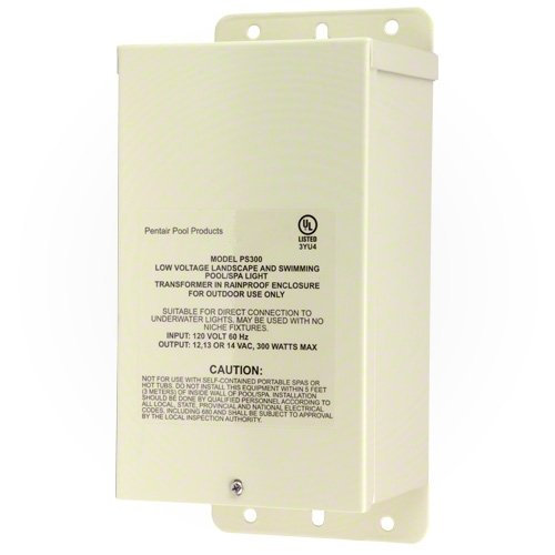 Pentair 619963 300W 12V-14V Pool Rated Transformer For Swimming Pool