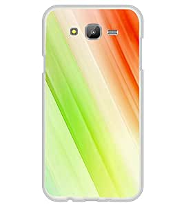 Multicolour Line Pattern 2D Hard Polycarbonate Designer Back Case Cover for Samsung Galaxy On7 G600FY :: Samsung Galaxy On 7 (2015)