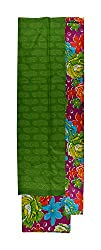 Vidhi Collection Women's Cotton Unstitched Dress Material (Green)
