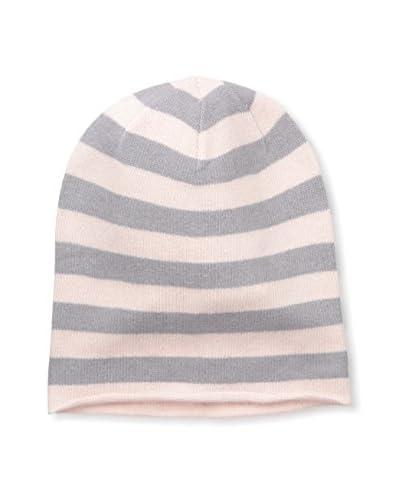 Portolano Women's Knit Hat, Powder Light Pink/Zinc