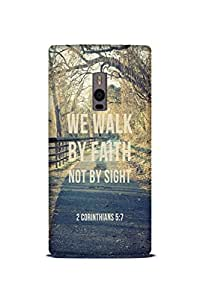 OnePlus One Perfect fit Matte finishing Motivational Quote Mobile Backcover designed by Abaci(Multicolor)