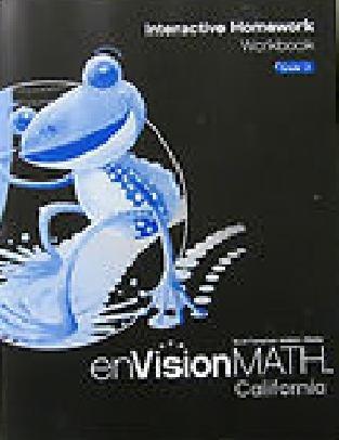 Interactive Homework Workbook Grade 2 (envisionmath Ca)