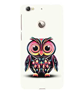 Cute Baby Owl 3D Hard Polycarbonate Designer Back Case Cover for LeEco Le 1s :: LeEco Le 1s Eco :: LeTV 1S