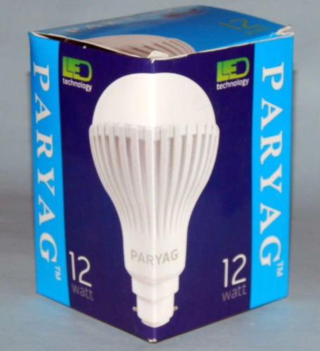 12w E27 Led Bulb (White, Set Of 6)