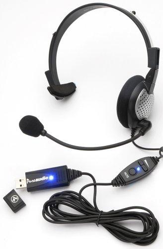 Andrea Nc-181 Vm Usb High Fidelity Monaural Usb Computer Headset (P-C1-1022300-1)