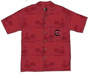 South Carolina Gamecocks Hawaiian Camp Shirt by Chiliwear LLC