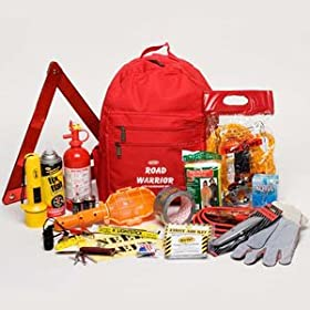 Urban Road Warrior Emergency Auto Survival Safety Kit