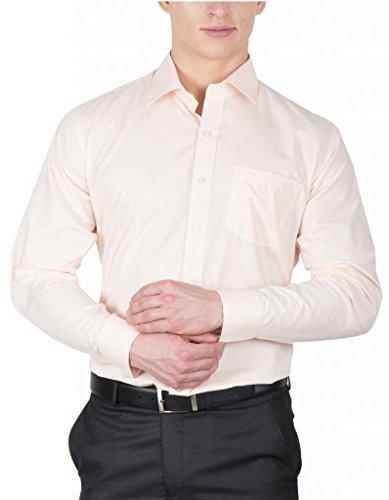 Arihant Men's Solid Formal Shirt(AR70585_Light Pink_40)