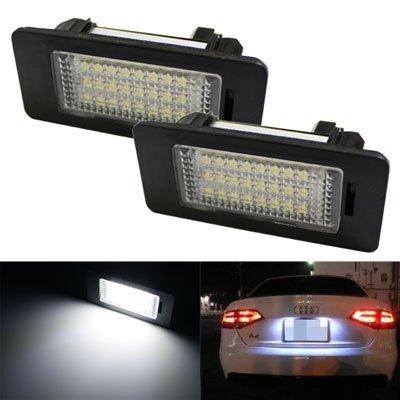 24-SMD Error Free LED License Plate Light Lamps