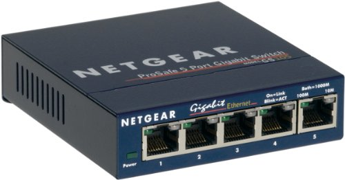 NetGear GS105GE Gigabit Ethernet Switch