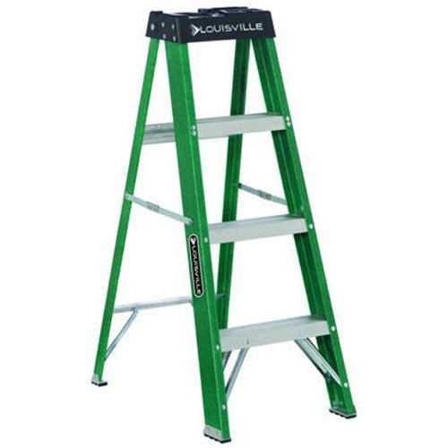 Louisville Ladder Fs2006 250pound Duty Rating Fiberglass