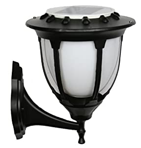 large outdoor solar powered led wall light lamp sl 7602
