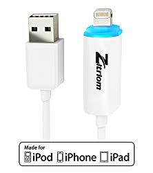 Apple MFI Certified Lightning Cable with Indicator Light This Charger Cord Are Made for Apple Iphone 5 / 5s / 5c / 6 / 6 Plus / 6s / Ipod 7 / Ipad Mini / Mini 2/ Mini 3 / Ipad 4 / Ipad Air / Ipad Air 2 / 8 Pin to USB Sync Cab