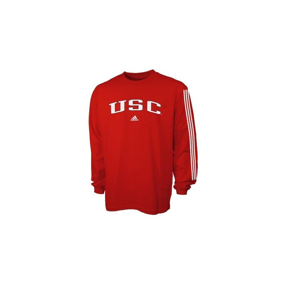 adidas South Carolina Gamecocks Garnet Primary Long Sleeve T shirt