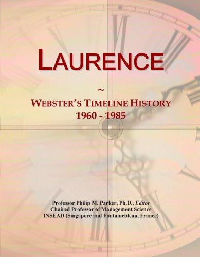 Laurence: Webster's Timeline History, 1960 - 1985