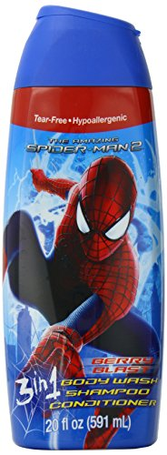 Marvel Spider Man 3 In 1 Body Wash, 20 Ounce