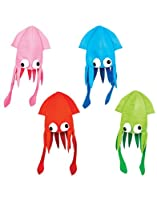 Squid Hat Party Accessory, Colors may vary by Rhode Island Novelties
