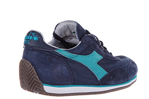 Diadora Heritage women's shoes leather trainers sneakers heritage blu US size 8 15698801C5789