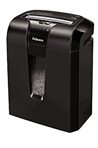 Fellowes Powershred 63Cb 10-Sheet Cross-Cut Shredder with Jam Blocker Technology (4600001)