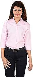 LGC Women's Buttoned Shirt (LGOSPIXXL, Pink, XXL)