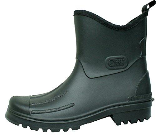 Bocks Tiegel-Peter-Uomo Stivali di gomma PVC stivali-nero-anche in taglie forti nero 52
