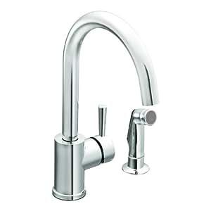 Moen 7106 Level e Handle High Arc Kitchen Faucet Chrome