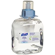 PURELL 5198-03 Advanced Skin Nourishing Instant Hand Sanitizer Foam, 1,200 mL FMX-12 Refill (Case of 3)